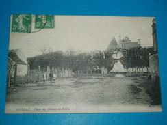 28 ) Auneau - Place Du Champ De Foire  - Année 1913 - EDIT : - Auneau