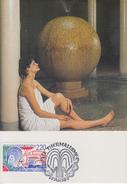 Carte Maximum  1er  Jour    THERMALISME    1988 - Cartes-Maximum