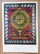 Stained Glass / Vitrail  / Globe  Jagiellonian University Cracow Poland / - Museos
