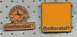 PNEUMATIC CONTINENTAL Tyre Neumatico Gomma Gum Pneu Pneus Pneumat 2 Pins - Badges
