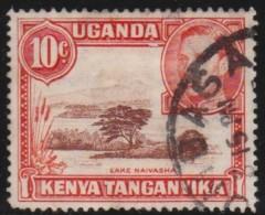 East  Africa & Uganda    .    SG     .   134b        .       O       .     Gebruikt   .   /  .   Cancelled - Kenya, Uganda & Tanganyika
