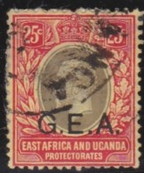 Tanganyika     .    SG     .    52       .       O       .     Gebruikt   .   /  .   Cancelled - Kenya, Uganda & Tanganyika
