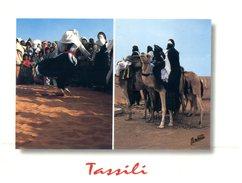 (308) Algeria - Tassili + Camel - Algeria