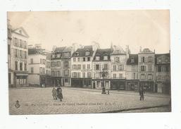Cp , 95 , PONTOISE , Place Du Grand MARTROY , Commerces , Animée , Voyagée 1907 - Pontoise