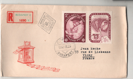 HUNGRY HONGRIE 1959 FIRSTDAY ENVELOPPE PREMIER JOUR  BELYEGNAP MAGYAR POSTA  BUDAPEST - Lettres & Documents