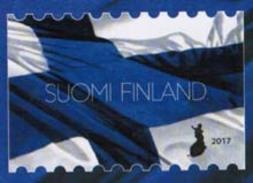 2017 Finland, Finnish National Flag Mnh.