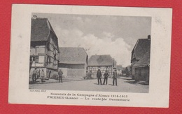 Friesen  --  La Route De Dannemarie - France