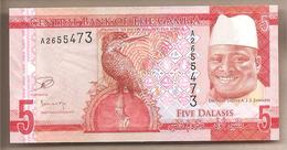 Gambia - Banconota Non Circolata FdS Da 5 Dalasis - 2015 - Gambia