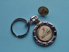 ERZURUM 2009 WINTER Universiade ( Turque / Turkije ) ( Zie Foto ) With PIN ! - Porte-clefs