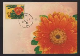 2001's Taiwan R.O.CHINA -Maximum Card- Personal Greeting Stamps
