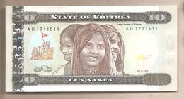 Eritrea - Banconota Non Circolata Fds Da 1 Nakfa - 1997 - Eritrea