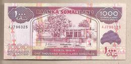 Somaliland - Banconota Non Circolata Fds Da 1000 Scellini - 2011 - Somalia