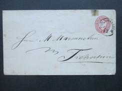 Österreich Klassik Ganzsache / Umschlag 5 Kreuzer Doppeladler - 1850-1918 Imperium