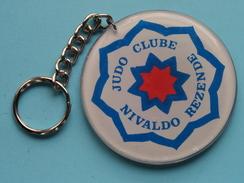 JUDO CLUBE NIVALDO REZENDE - Ginastica Feminina Danca Moderna / Key Chain - Porte Clé ( 7 Cm. ) Zie Foto ) ! - Gymnastiek