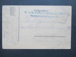 Österreich Feldpost 1. WK 1917 K.u.K. Infanteriebaon 1/93 Maschinengewehrkompagnie. Feldpostamt 628 - 1850-1918 Imperium