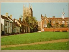 Citroen GS Break, Morris Marina, Long Melford Church, Suffolk - Turismo
