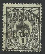 Wallis And Futuna, 1 C. 1920, Sc # 1, Used - Oblitérés