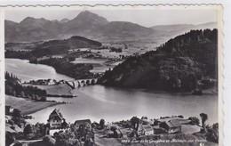 Lac De La Gruyère, Corbière, Vue Aérienne En Direction Du Moléson - FR Fribourg