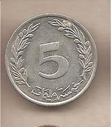 Tunisia - Moneta Circolata Da 5 Milim - 1997-2015 - Tunisia