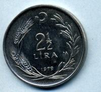 1979 2.50 LIRA - Turkey