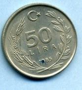 1985  50 LIRA - Turkey
