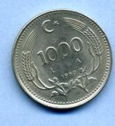 1990 1000 LIRA - Turkey