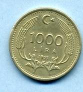1991 1000 LIRA - Turkey