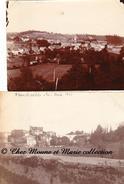 FRANCHEVILLE - LE BAS ET VUE GENERALE - RHONE - LOT DE 2 PHOTOS 10 X 8 ET 11 X 8.5 CM - Lieux