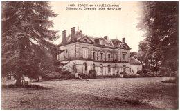 72 TORCE-en-VALLEE - Chateau De Chesnay (coté Nord-Est)  (Recto/Verso) - Autres Communes