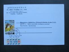 China / Taiwan 1969 Nr. 732 Saatgänse. Taipeh. Luftpost. Ta Shih Trading Co. - 1945-... República De China