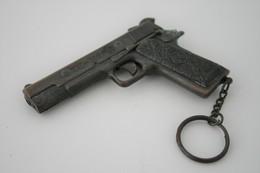 Vintage TOY GUN :  MARX - L=9cm - 1960s - Keywords : Cap - Cork Gun - Rifle - Revolver - Pistol - Tin - Armes Neutralisées