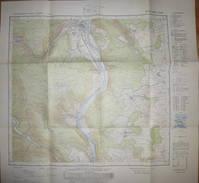 Lohr Am Main 1968 - Topographische Karte 6023 - Maßstab 1:25'000 62cm X 60cm - Topographische Karten