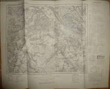 Karte Des Deutschen Reiches 1-cm-Karte - 334 Höxter - Ausgabe 1952 - Topographische Karten