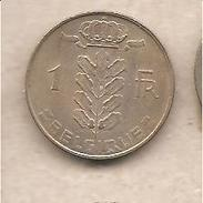 Belgio - Moneta Circolata Da 1 Franco - 1970 - 1951-1993: Baldovino I