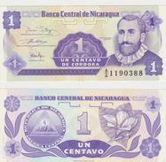 NICARAGUA  1CENTAVOS 1991 FDS - Nicaragua