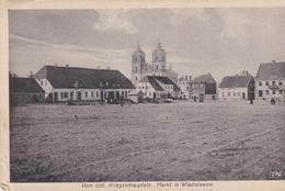 Markt Im Wladislawow Feldpostkarte 1915 - Litauen
