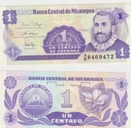 NICARAGUA  1 CENTAVOS 1991 FDS - Nicaragua