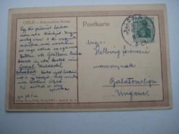 1914 , Köln - Werkbundausstellung , SSt. Auf Karte