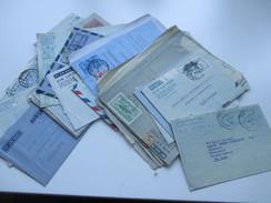 Posten Air Letter / Luftpost Ganzsachen 1950er Jahre Aerogramme. Burma / Ceylon / Australien / Pakistan / Jamaica 25 Stk - Briefmarken