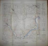 Rieneck 1967 - Topographische Karte 5923 - Maßstab 1:25'000 60cm X 61cm - Topographische Karten