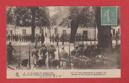 Husseren -Wesserling  --  Revue Des Troupes  Le 14 Juillet 1915 - France