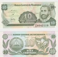 NICARAGUA  10 CENTAVOS 1991 FDS - Nicaragua
