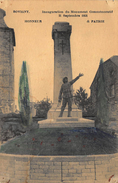 Bovigny  Inauguration Du Monument Commératif 11 Septembre 1921    Gouvy       X 185 - Gouvy