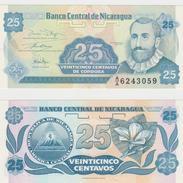 NICARAGUA  25 CENTAVOS 1991 FDS - Nicaragua
