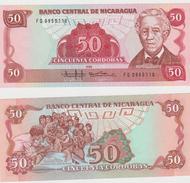 NICARAGUA  50 CORDOBAS  1985 FDS - Nicaragua