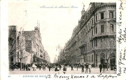ARGENTINA - BUENOS AIRES - AVENIDA DE MAYO 1902  Arg177 - Argentina