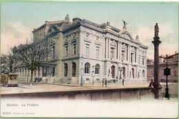 Genève.Le Théâtre.Le Tram. - GE Genève