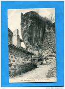 LAROQUEVIEILLE--rocher De L'antenou- Plan Animé A Voyagé En 1917-édition - Frankrijk