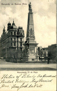 ARGENTINA - BUENOS AIRES - MONUMENTO 25 De MAYO 1909  Arg183 - Argentina