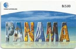 Panama - Cable & Wireless - Panama - SC7, 1999, 250.000ex, Used - Panama